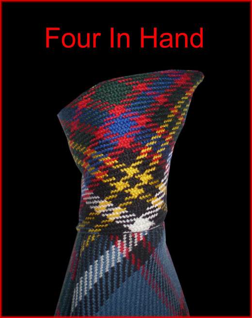 four in hand tie knot instructions